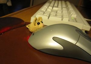 a mouse with a mouse