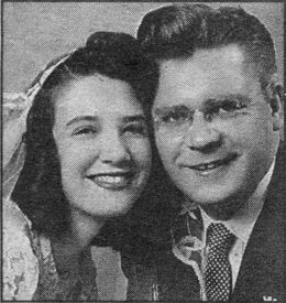 wedding photo 1951