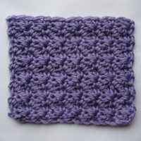 simplified star stitch sample