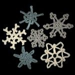 snowflakes together