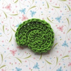 playing with crochet fiddlehead ideas