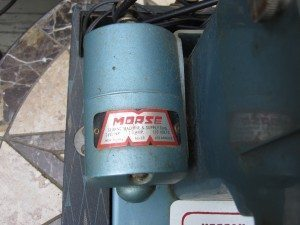 Morse sewing machine motor