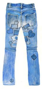 jeans drawing by heidi jergovsky on pixabay