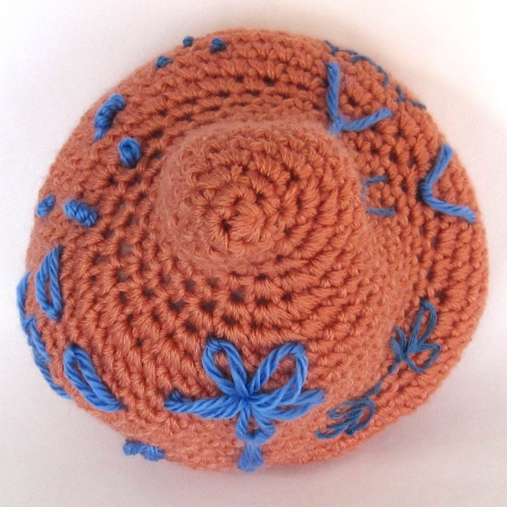 Embroidery on Crochet 2: Separated stitches - ReveDreams.com